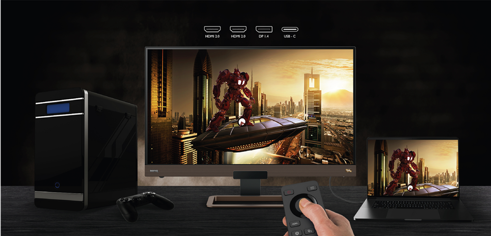BenQ launches EX2780Q 144Hz gaming monitor with world's first HDRI technology