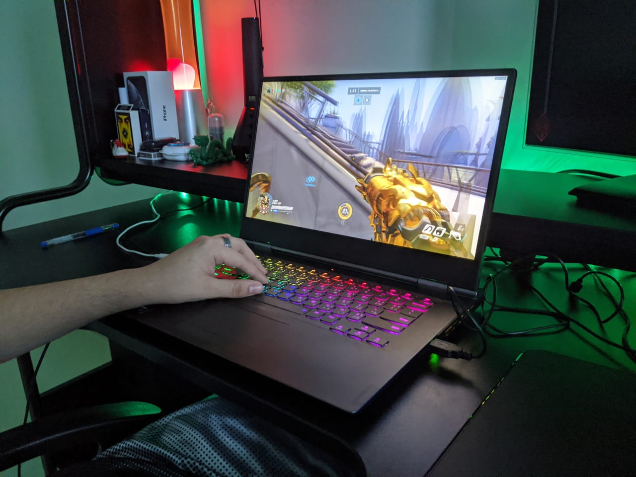 Lenovo Legion Y740 Gaming Laptop Review