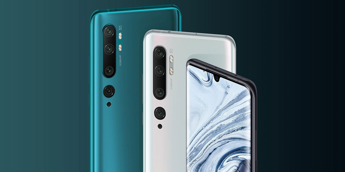 Xiaomi launches Mi Note 10 with world's first 108MP Penta Camera