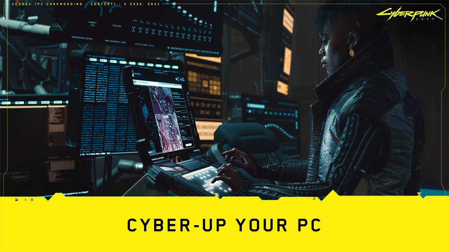 CD PROJEKT RED announces  'Cyber-up Your PC' contest