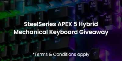 APEX 5 RGB Hybrid Mechanical Keyboard Giveaway