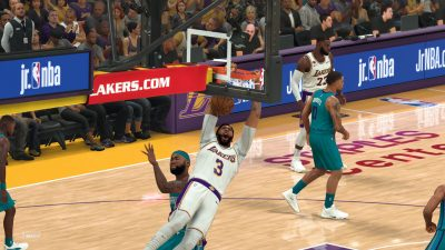 NBA 2K21 Review: Smash-Mouth Basketball