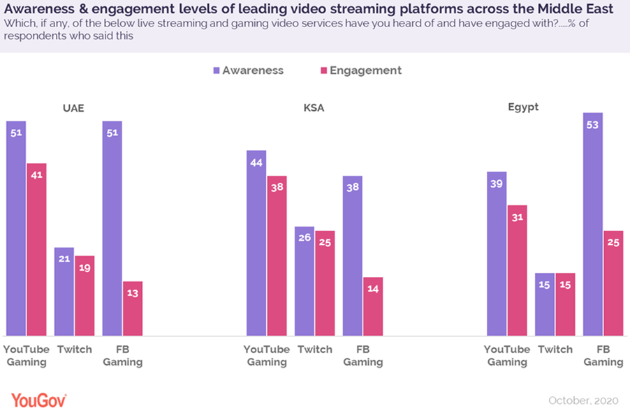 MENA gaming leads video game streaming markets