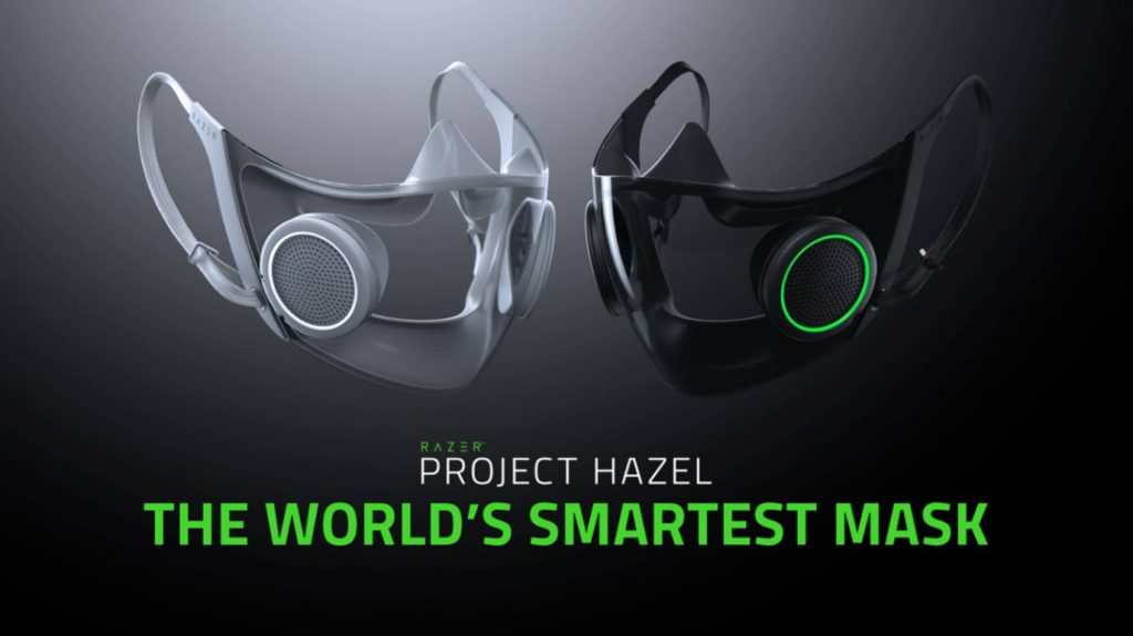 Razer announced two new concept designs; Project Hazel, the world's smartest and most socially friendly face mask, and Project Brooklyn.