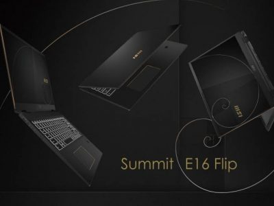 MSI launches Summit Laptop Series with MSI Pen