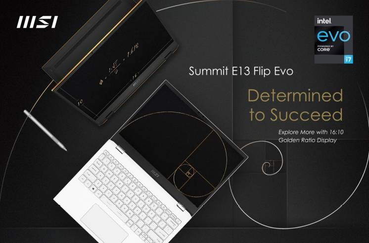 MSI launches Summit Laptop Series with MSI Pen 5